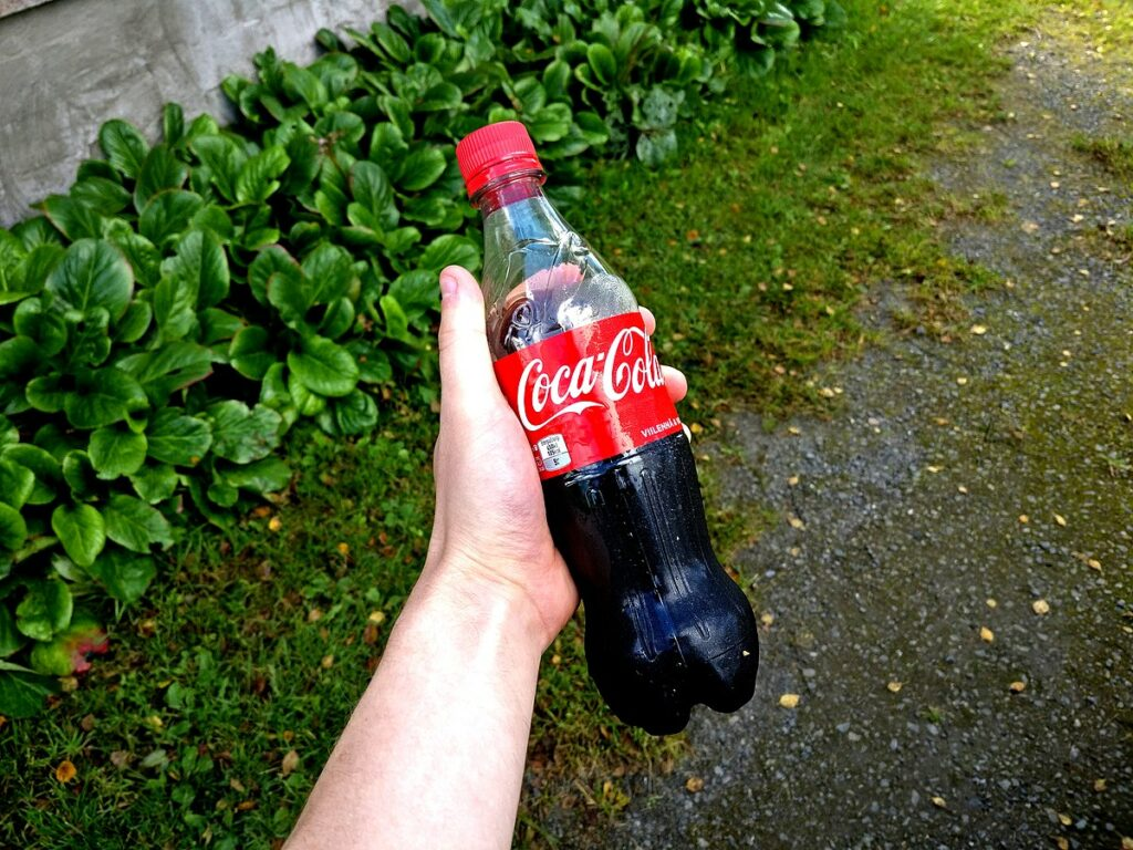 Coca cola na upchaty odtok